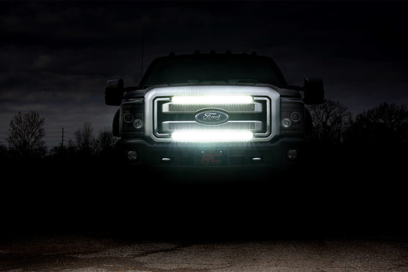 2011 2016 F250 Amp F350 Rough Country 30 Quot Cree Led Grille