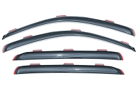 2009-2014 F150 Lund VentVisor Elite 4pc Window Deflectors (SuperCrew)