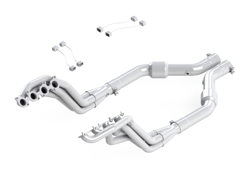 2015-2018 Mustang GT 5.0L MBRP Long Tube Header & Catted Lead Pipe Kit