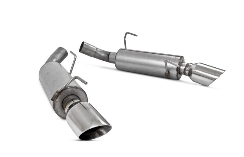 05-10 Mustang GT 4.6L MBRP Dual Rear Split Exit Axle-Back Exhaust System (Aluminized)