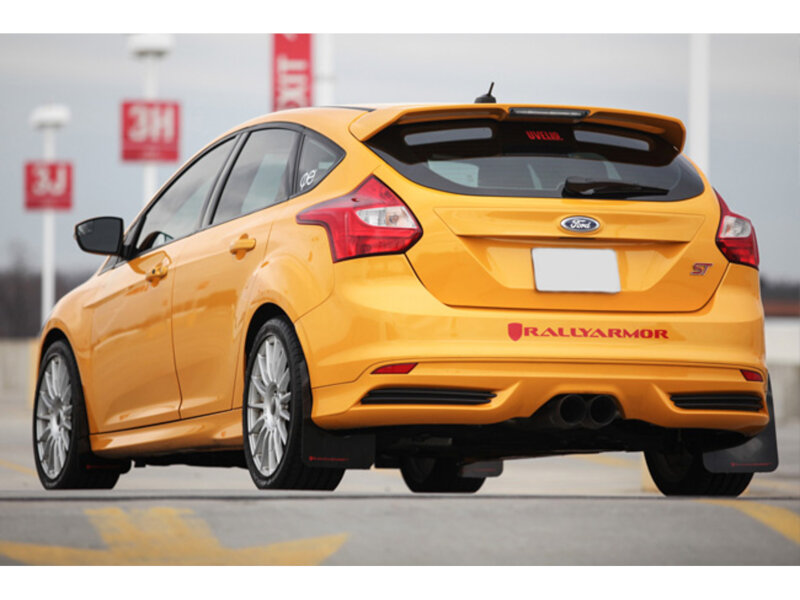 2013 2019 Focus St Rs Rally Armor Front And Rear Mud Flaps