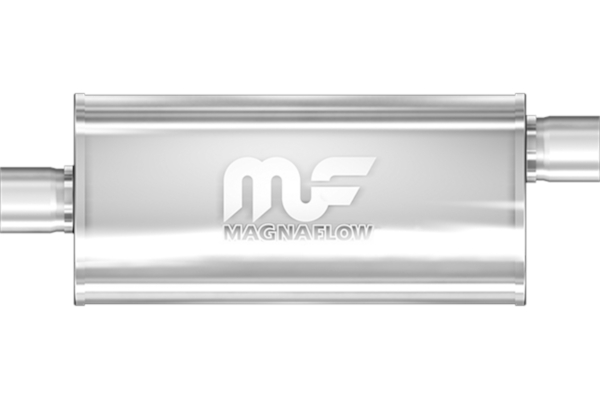 """Turbine Muffler 10/'/' Body 304 Stainless Steel 2/"""" INLET/&OUTLET"""