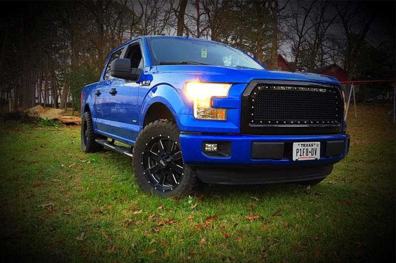 "2004-2019 F150 Moto Metal MO962 20x9"" Gloss Black Milled ..."