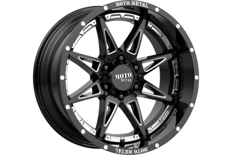 6x139.7mm Bolt Pattern Moto Metal MO993 Hydra 17x9
