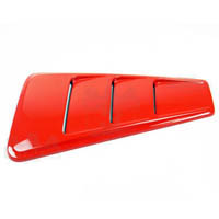 05-09 Mustang GT Quarter Window Louvers