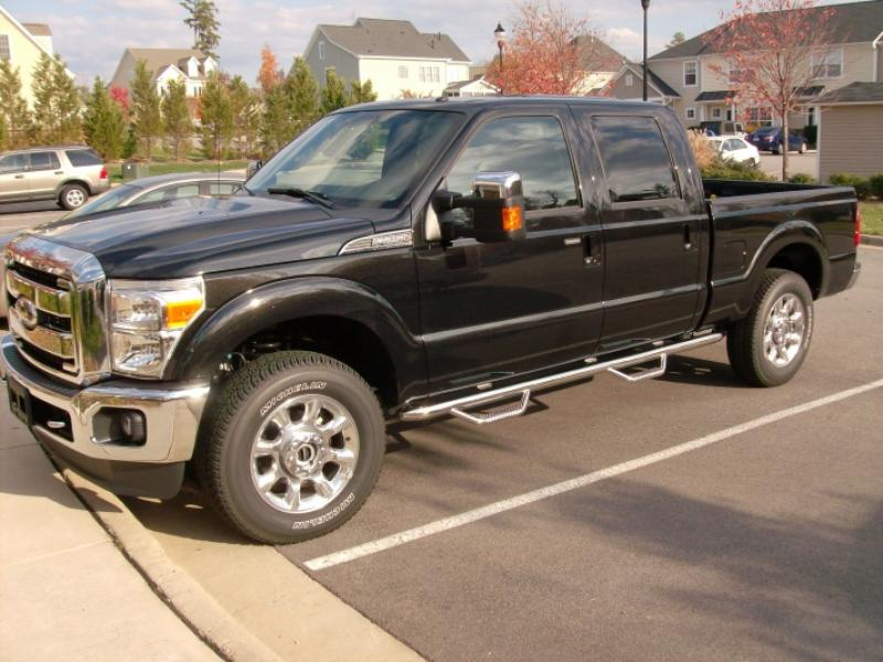 2014 Ford F 250 Crew Cab >> 1999-2016 F250 & F350 N-FAB Stainless Steel Wheel-to-Wheel Nerf Step (Crew Cab, 6.5 ft. Short ...