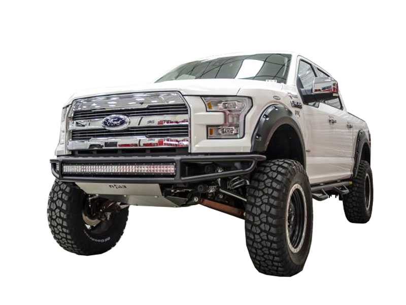 Off Road Bumpers F150 >> 2015-2017 F150 N-Fab M-RDS Radius Pre-Runner Style Bumper with LED Multi-Mount F151MRDS