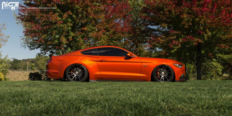 2005 2017 Mustang Niche Vicenza 20x10 Quot M153 Wheel Double