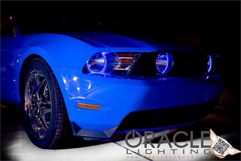 2010 2012 Mustang Oracle Led Headlight Halo Kit 2302