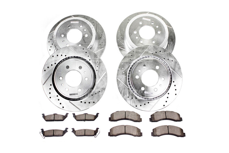 2012-2014 F150 & Raptor Power Stop Z36 Truck & Tow Complete Brake Kit (6-Lug Only)