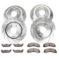 2010-2011 F150 & Raptor Power Stop Z36 Extreme Truck & Tow Complete Brake Kit (6-Lug Only)