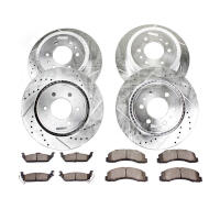 1999-2004 Super Duty 4WD Power Stop Z36 Truck & Tow Complete Brake Kit