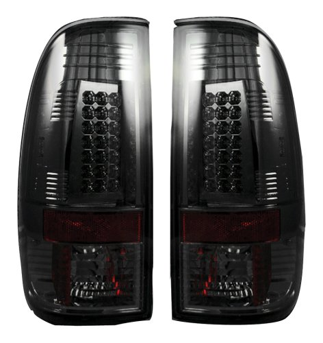 1997-2003 F150 Recon Lighting LED Tailights (Smoked)