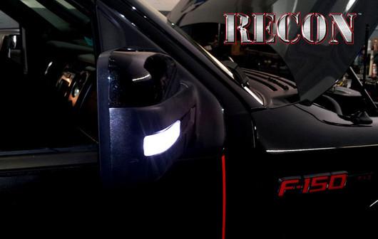 2009 2014 F150 Amp Raptor Recon Lighting Led Side Mirror