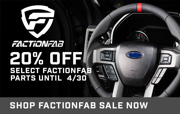 20% Off Select FactionFab!