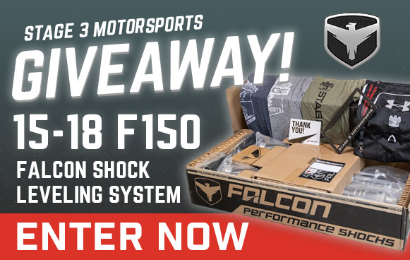 Falcon Suspension Giveaway!