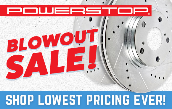 Stage 3's Power Stop Blowout Sale!
