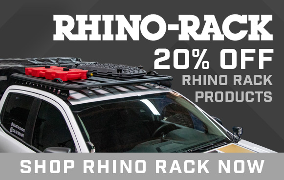 20% Off Rhino Rack!