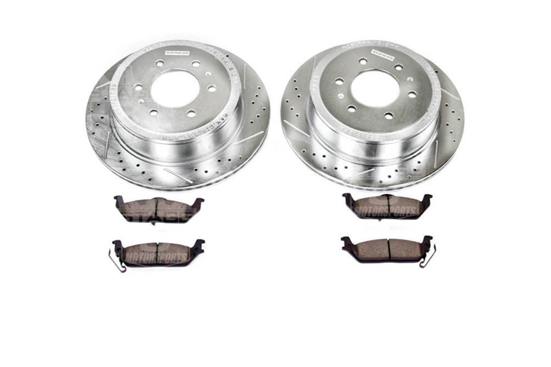 2011 2012 for Ford F-350 Super Duty 4WD Front /& Rear Brake Rotors and Pads w//SRW