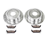 2009-2010 F250 & F350 4WD Power Stop Rear Z23 Brake Kit
