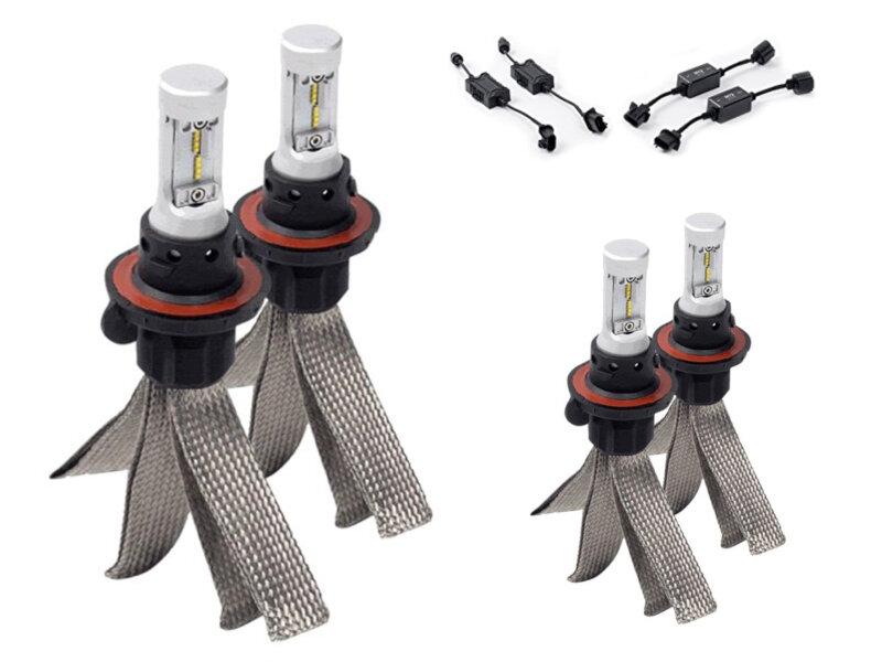 Led Replacement Headlight Bulbs >> 2017 2019 F250 F350 Putco Led Headlight Bulb Upgrade Kit High Low Beam