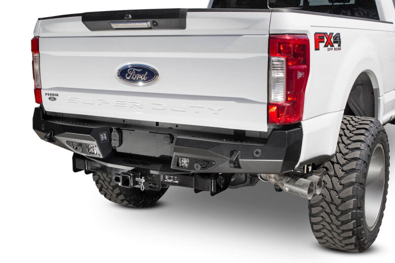 2017-2019 F250 & F350 ADD Stealth Fighter Rear Bumper w/ Backup Sensors R161231280103