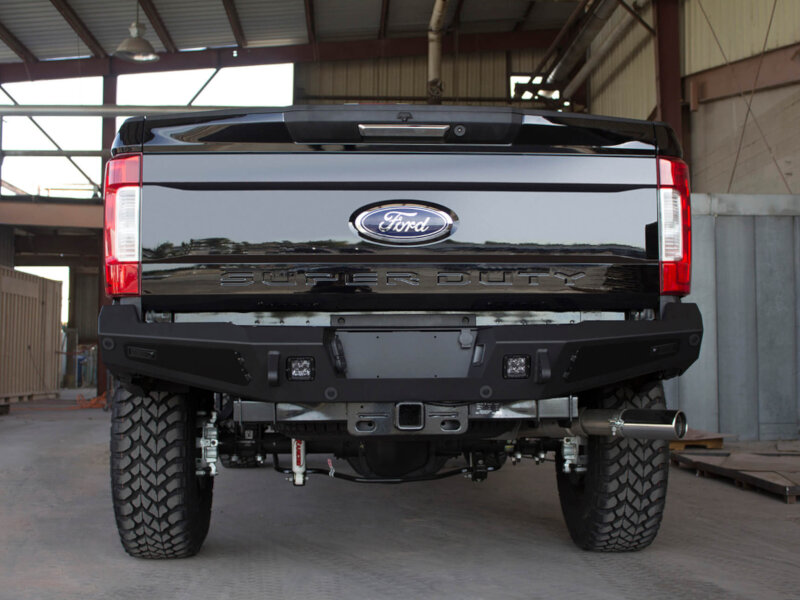 2017-2019 F250 & F350 ADD Honey Badger Rear Bumper With ...