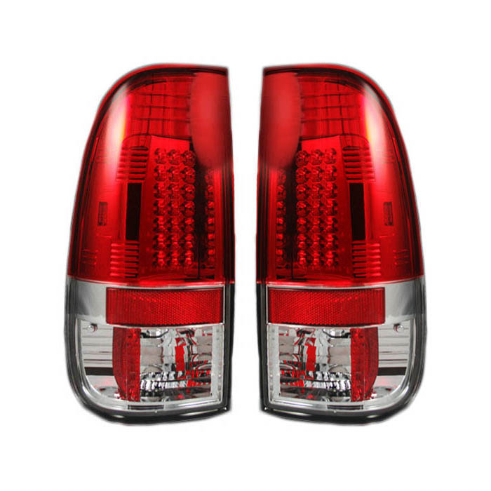 Passengers Taillight Tail Lamp Replacement for 2008-2016 F250 F350 F450 Super Duty Pickup Truck BC3Z13404A