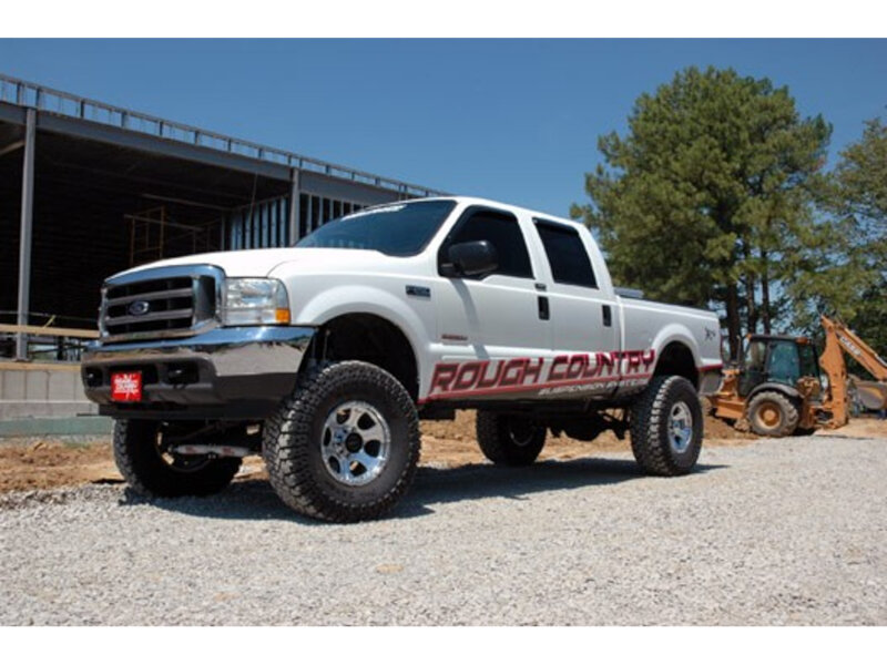"""1999-2003 F250 Super Duty 4WD Rough Country 6"""" 4-Link ..."""