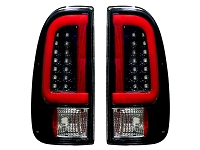 1999-2007 F250 & F350 RECON OLED Styleside Taillights (Smoked)