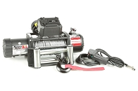 Rugged Ridge Nautic 9,500lb Winch w/ Steel Cable