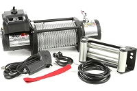 Rugged Ridge Spartacus Heavy Duty 12,500lb Winch w/ Steel Cable