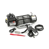 Rugged Ridge Spartacus Performance 10,500lb Winch w/ Synthetic Rope