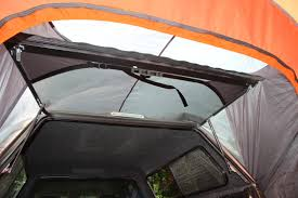 Hover to zoom & F150 / F250 Super Duty Rightline Gear Tent (For SUV or Camper ...
