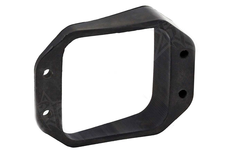 Rigid Industries D-Series Flush Mount 15° Left/Right Angle-Mount Kit