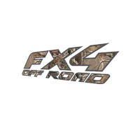 97-08 F150 FX4 Off-Road RealTree AP Bedside Decals