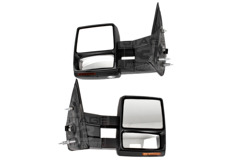 Install Guide 2007 2014 F150 Tow Mirrors With Puddle Lights On Our Ford F 150 Power Mirror Switch Wiring