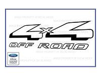 Officially Licensed 1997-2008 F150 4X4 Off-Road Decals (Pair)