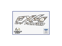 Officially Licensed 1997-2008 F150 FX4 Off-Road RealTree APS Decals (Pair)