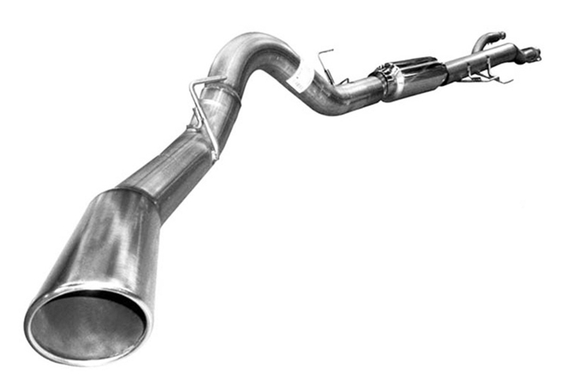 Cat Back Dual Exhaust Kit for 2011-2014 3.5L V6 Ford F150 Ecoboost Twin Turbo 157 inch Wheel Base by Solo Performance