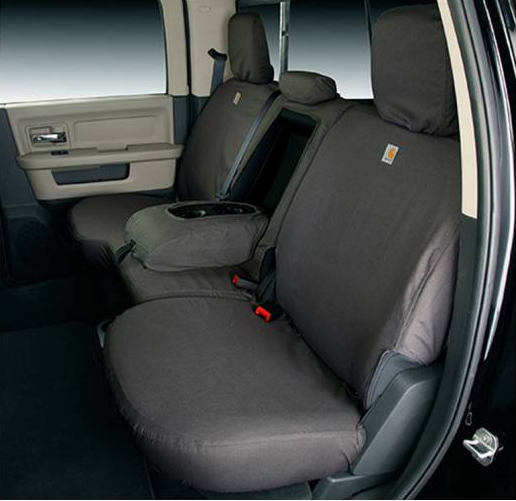 Fine 2000 2007 F250 F350 Supercab Carhartt Second Row Seat Covers Brown W 40 60 Split Bench Seat Fold Up Seat Cushion Ssc7337Cabn Machost Co Dining Chair Design Ideas Machostcouk