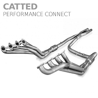 2009-2010 F150 5.4L Stainless Works Performance Connect Long Tube Headers w/ X-Pipe