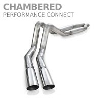 2011-2014 F150 5.0L Stainless Works Chambered Performance Connect Side Exit Cat-Back Kit