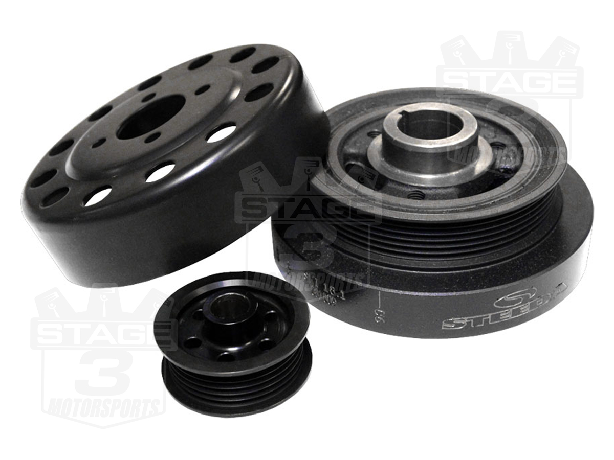 Mustang Performance Parts >> 2001-2004 Mustang GT 4.6L Steeda Underdrive Pulley Kit 701-0003