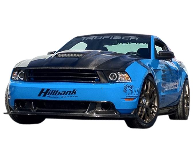 Mustang Roush For Sale >> 2010-2012 Mustang TruCarbon RTF Ram Air Hood 10025-A61