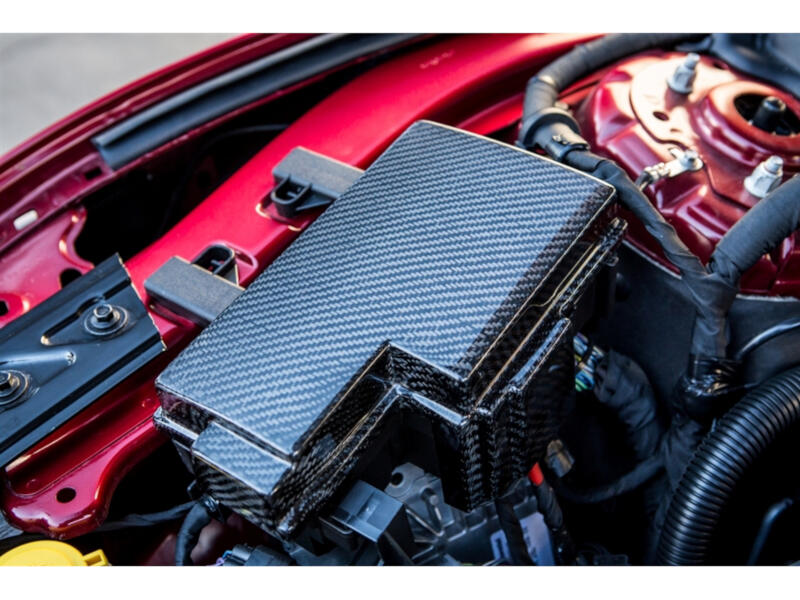 2015 2017 mustang trufiber carbon fiber fuse box cover tc10026 lg241 rh stage3motorsports com Cobra Mustang GT On a 07 Mustang Carbon Fiber Interior