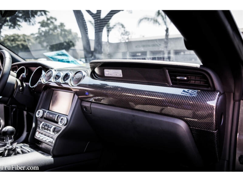 2015 2018 Mustang Carbon Fiber Interior Parts