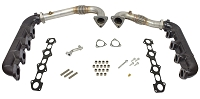 2008-2010 F250 & F350 6.4L BD Diesel Turbo Up-Pipe & Manifold Kit