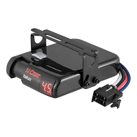 CURT Triflex Heavy-Duty Trailer Digital Brake Control (Inertia-Based Activation)