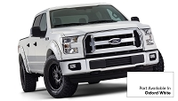 2015-2017 F150 Bushwacker Pocket Style Fender Flares (Pre-Painted Oxford White)
